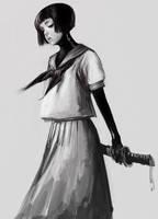 Uniform Japanese sword2 by masateru
