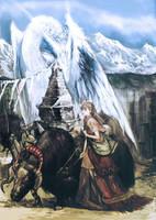 white Dragon by masateru