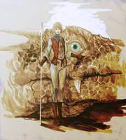 Dragon Woman by masateru