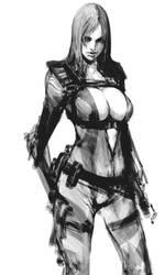 Jill Valentine120111 by masateru