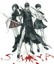 BLOOD saya by masateru