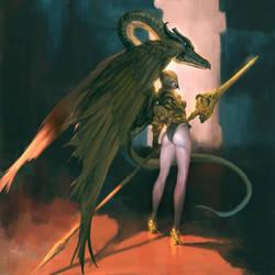 Dragonlance by masateru