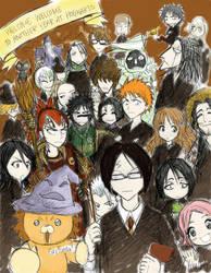 Bleachy Hogwarts by puppetdemon