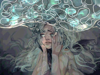 drowning by donutisgreen