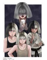 SIA AND THEIR GIRLS (Fanart) by im-Miru