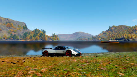 great view of the lake by firedrive61
