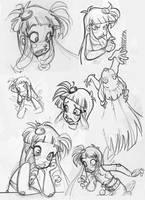 Sketches by wandolina