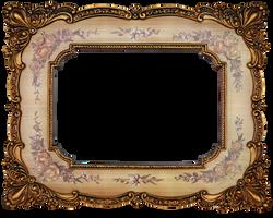 vintage frame by mistyt-stock