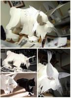 Paper Lynx by ovibos
