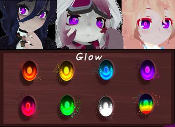[MMD] Glow Eyes - DL by DoodleF0X