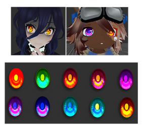 [MMD] More eyes by DoodleF0X