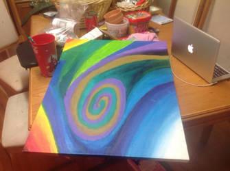 Abstract panting ten by vansc14