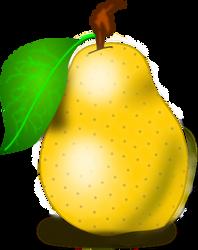 Pear Clip Art by vansc14