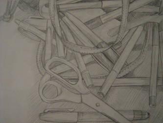 Scissors by esillmonday