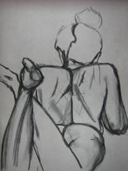 Life Drawing 1 by esillmonday