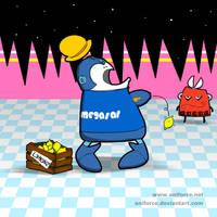 Daaaahaaa, I'm a robot from the fuuuuture! by Aniforce