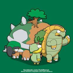 Terra Turtles! by Aniforce