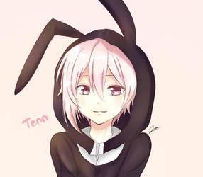 [ IDOLiSH7 ] Rabbit Hoodie Kujo Tenn by nazunyan