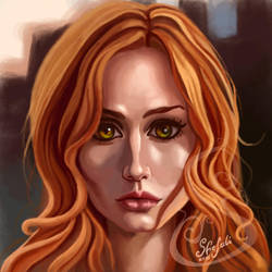 Clary Fray by Shefali13
