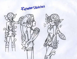 Ranamon Sketches by rika195