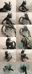 Chocolate Mint Dragon by lovelauraland
