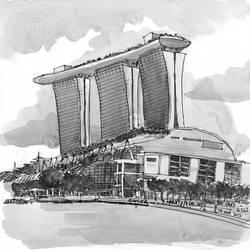 Marina Bay Sands by parka