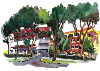 Bukit Panjang Government High School by parka