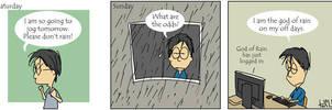 I am the god of rain by parka