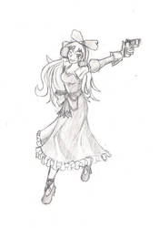 Calamity Jane from Wild Arms by drakeamis
