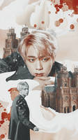Jin Phone Wallpaper by cypher-s