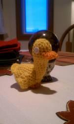 Crochet creations 3: duckie by unicorn-catcher