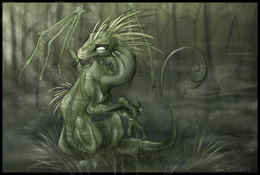 Swamp Dragon by malta