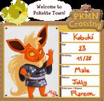 Pokemon Crossing Application by malta
