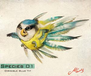 Species 01- Dirigible Blue by malta