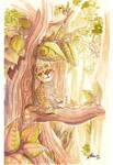 Rainforest Jaguar by malta
