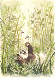 Bamboo Forest by malta