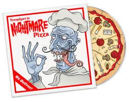 Nightmare Pizza by Teaessare
