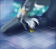 Lord Angemon and nurse Angewomon secret affair by Ayhelenk