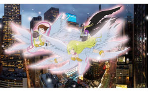 Angels in Times Square by Ayhelenk