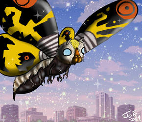 Mothra1961 by ComicmakerJoe