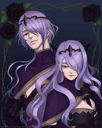 The black roses of Nohr by Kukico