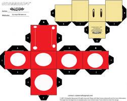 Super Mushroom Cubee by Respeto6
