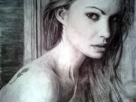 Woman at a glance by Surreal-Portrait