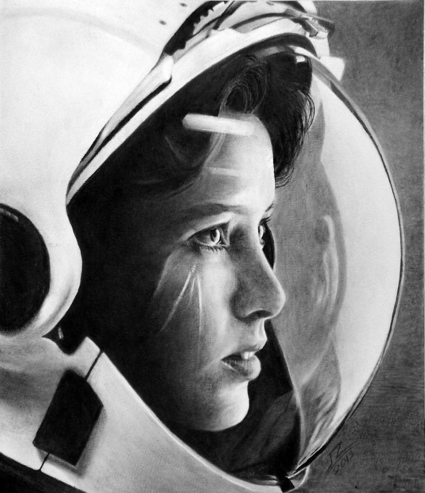 Space by Surreal-Portrait