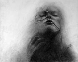 Cloudy Girl by Surreal-Portrait