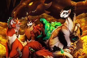 Dragon's den by Sankko