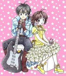Takuto and Mitsuki by chikorita85