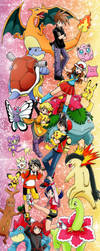 Pokemon characters by chikorita85
