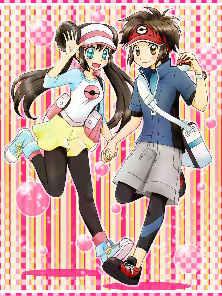 New characters pokemon bw 2 by chikorita85