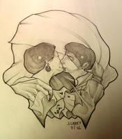 Vampire kiss by EmperorMegas